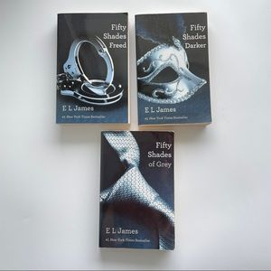 Fifty Shades Trilogy Fifty Shades of Grey 3 books